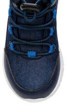 Waterproof hi-top trainers - Dark blue - Kids | H&M 3