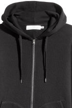 Hooded jacket - Black - Men | H&M CN 3