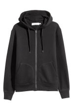Hooded jacket - Black - Men | H&M CA 2