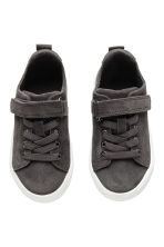 Suede trainers - Dark grey - Kids | H&M 2