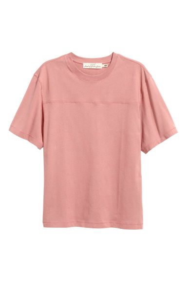 T-shirt - Pale pink - Men | H&M 1