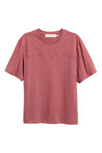 T-shirt - Pale red - Men | H&M CN 2