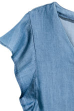 Lyocell blouse - Denim blue - Ladies | H&M CN 3