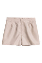 Shorts in misto modal - Beige - DONNA | H&M IT 2