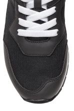 Mesh trainers - Black - Kids | H&M 4