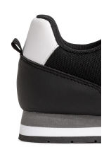 Mesh trainers - Black - Kids | H&M 5