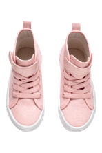 Hi-top trainers - Light pink -  | H&M 2