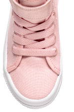 Hi-top trainers - Light pink - Kids | H&M 3