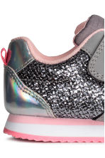 Glittery trainers - Grey - Kids | H&M CN 4