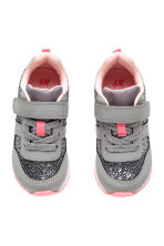 Glittery trainers - Grey - Kids | H&M CN 2