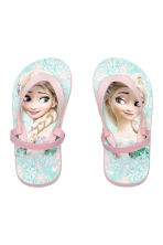 Flip-flops - Mint green/Frozen - Kids | H&M CN 1