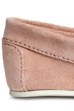 Suede moccasins - Old rose - Kids | H&M CN 4