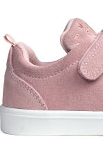 Suede trainers - Dusky pink - Kids | H&M CN 5