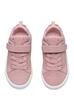 Suede trainers - Dusky pink - Kids | H&M 3