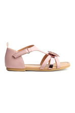 Sandals with appliqués - Light pink - Kids | H&M 2
