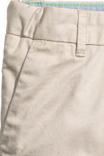 Chino shorts - Light mole -  | H&M CN 5