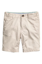 Chino shorts - Light mole -  | H&M 2