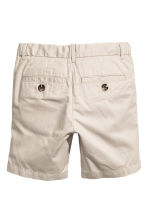 Chino shorts - Light mole -  | H&M 3
