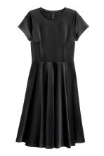 H&M+ Dress in scuba fabric - Black - Ladies | H&M 2