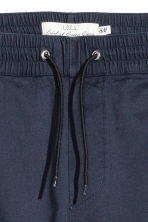 Pull-on trousers - Dark blue - Men | H&M 4