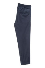 Pull-on trousers - Dark blue - Men | H&M 3