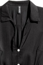V-neck jumpsuit - Black - Ladies | H&M CA 3