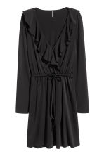 Wrap dress - Black - Ladies | H&M CN 2