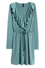 Wrap dress - Petrol - Ladies | H&M CN 2