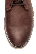 Chukka boots - Dark cognac brown - Men | H&M 3