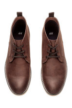 Chukka boots - Dark cognac brown - Men | H&M 2