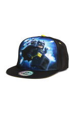 Cap with a print motif - Black/Lego - Kids | H&M CN 1