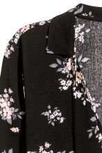Patterned dress - Black/Floral -  | H&M 3
