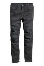 Pantaloni biker con rinforzi - Nero -  | H&M IT 2
