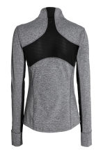 Running jacket - Dark grey marl - Ladies | H&M CN 3