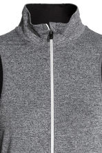 Running jacket - Dark grey marl - Ladies | H&M CN 4