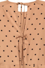 Spotted dress - Beige/Spotted - Ladies | H&M CN 4