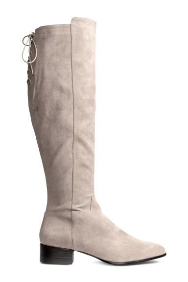 Long boots - Grey - Ladies | H&M CA 1