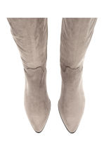 Long boots - Grey - Ladies | H&M CA 2