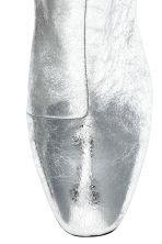 Metallic ankle boots - Silver - Ladies | H&M 4