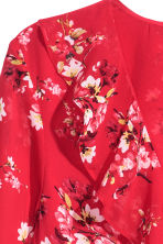 Wrap dress - Red/Floral - Ladies | H&M CN 3