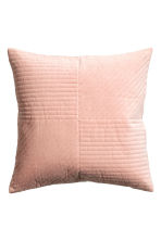 Copricuscino trapuntato - Rosa nebbia - HOME | H&M IT 2