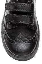 Brogue-patterned trainers - Black - Kids | H&M 3