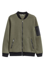 Bomber jacket - Khaki green - Kids | H&M 2