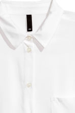 Viscose shirt - White - Ladies | H&M 3