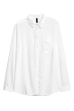 Viscose shirt - White - Ladies | H&M 2