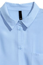 Viscose shirt - Light blue - Ladies | H&M GB 3