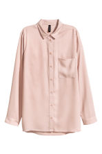 Viscose shirt - Powder pink - Ladies | H&M CN 3
