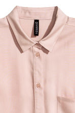 Viscose shirt - Light old rose - Ladies | H&M CN 3