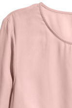 Blouse with frills - Old rose - Ladies | H&M 3