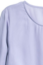 Blouse with frills - Lavender - Ladies | H&M CN 3